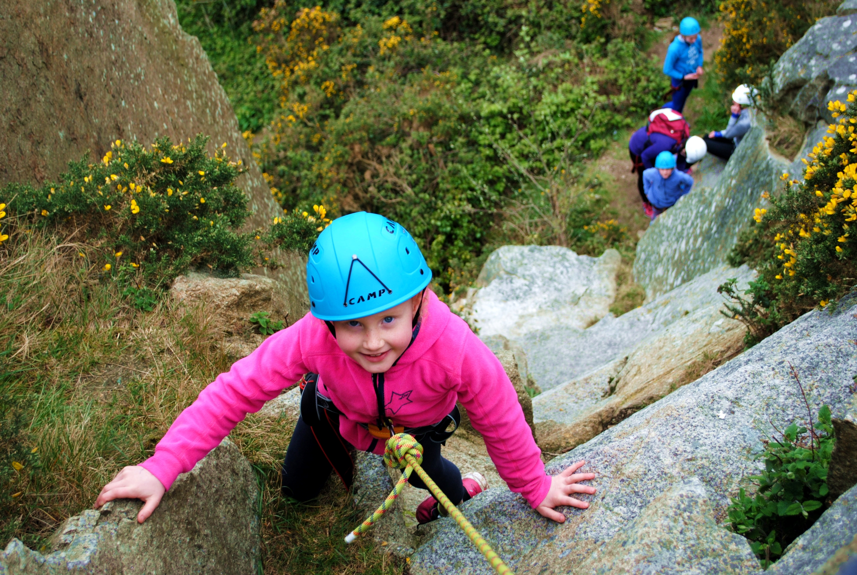 4 Family Climbing Dalkey 20th April 17