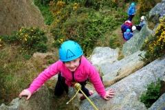 4 Family Climbing Dalkey 20th April 17