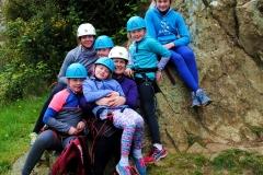 Family Climbing Dalkey 20th April 17