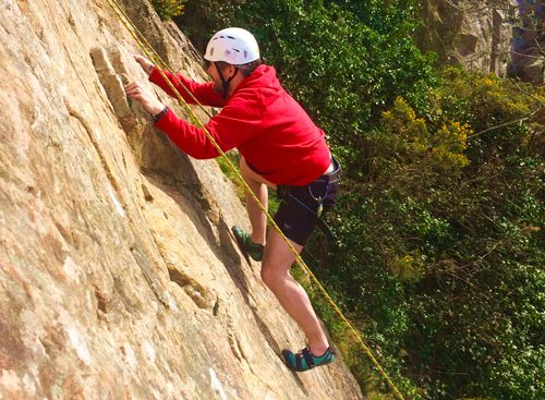 Beginner adult rock climbing courses Dublin
